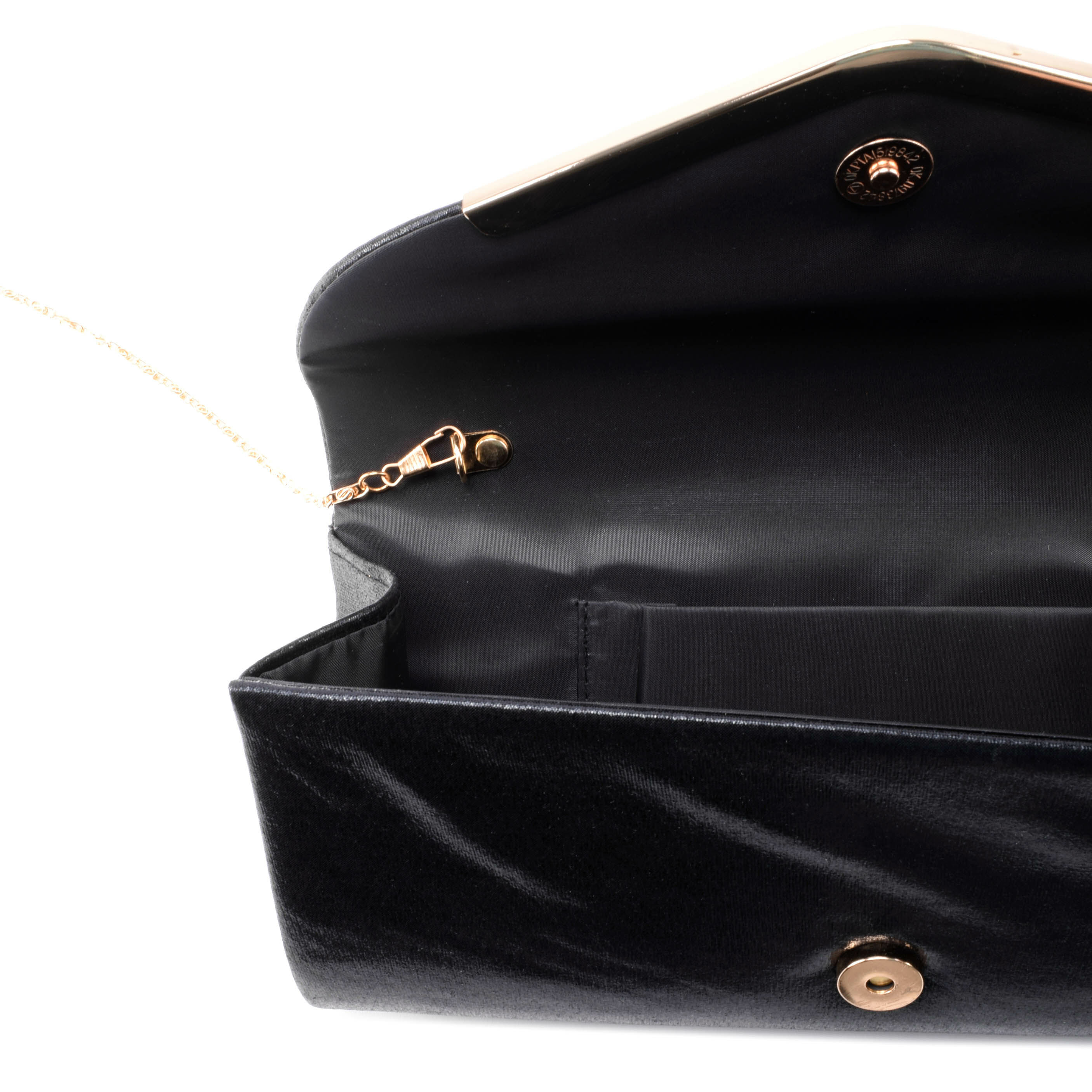 Fekete női csillámos alkalmi táska - Alkalmi táskák - Táska ... de8fbe94fa