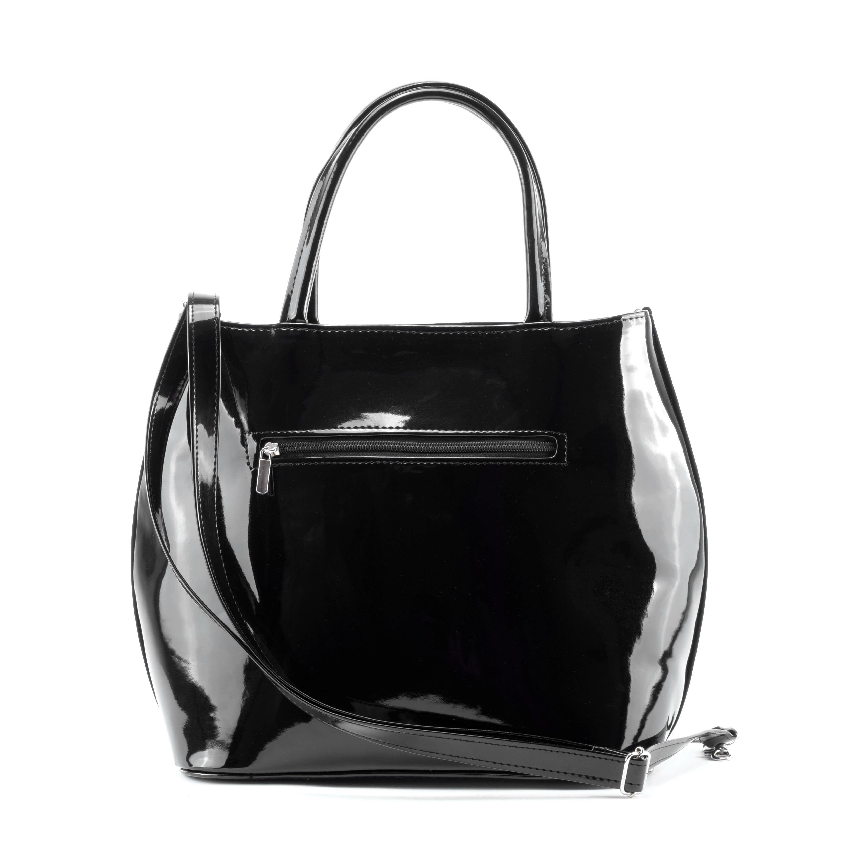 Prestige Fekete Női Művelúr Válltáska F762-BLACK - eMAG.hu 4680b070b1